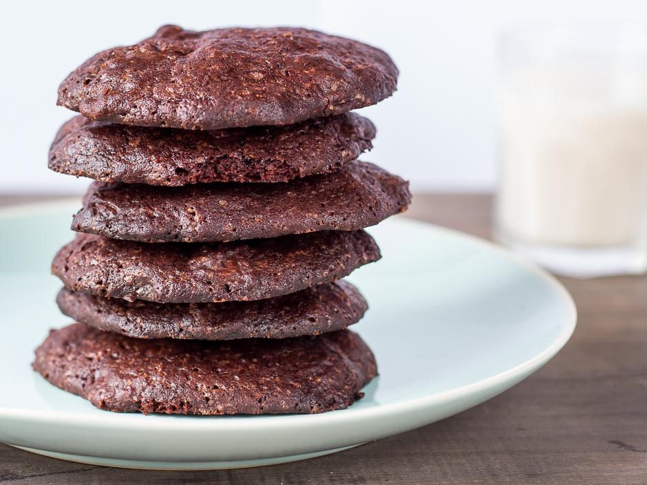 Cookies veganas de chocolate