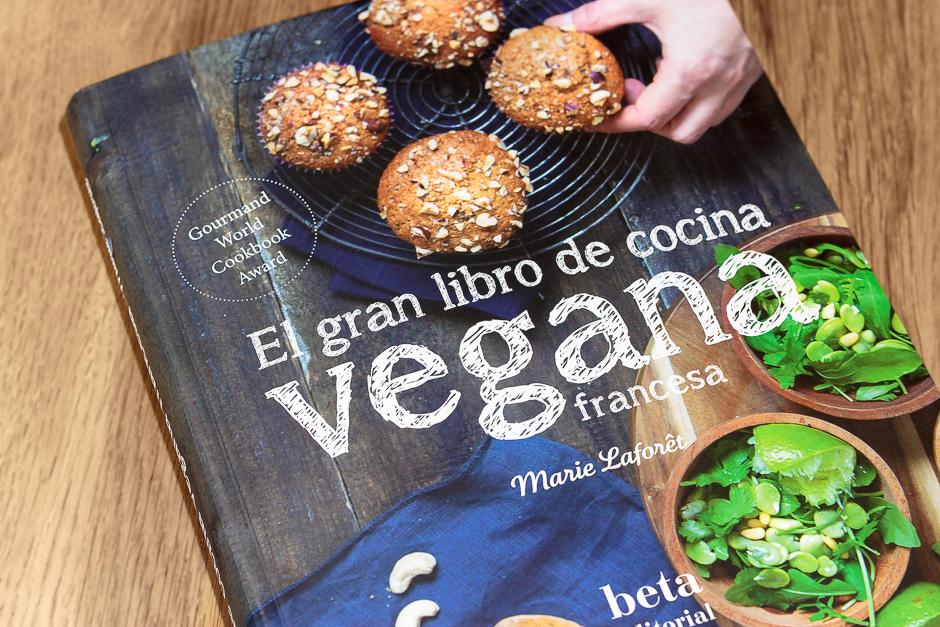 El gran libro de la cocina vegana francesa, de Marie Laforet