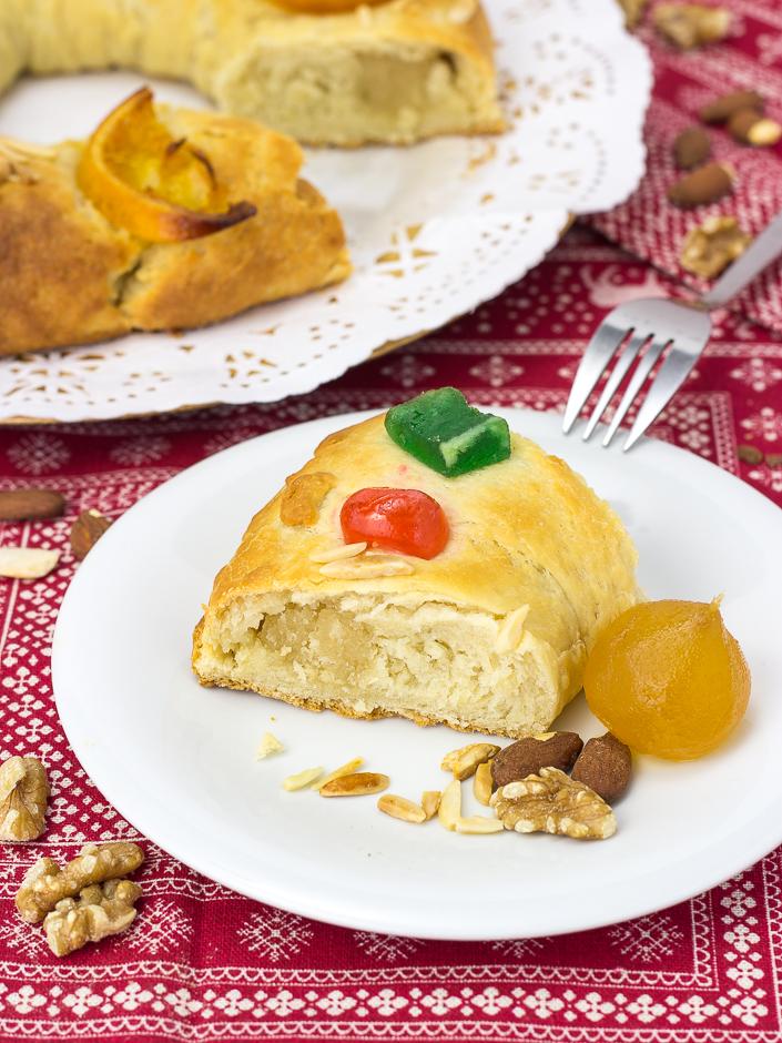Roscón de Reyes vegano