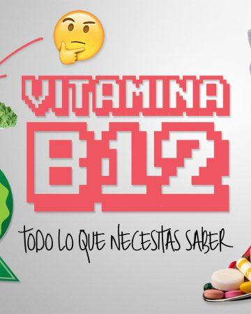 Vitamina B12 en la dieta vegana
