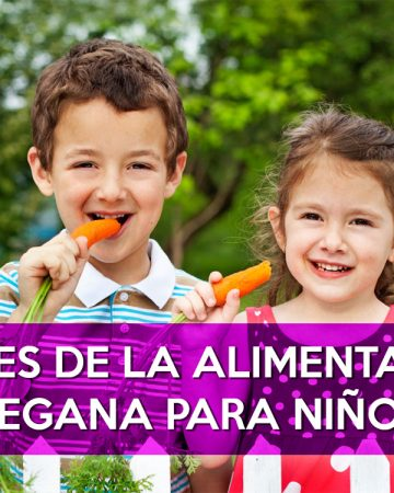 Alimentación vegana para niños