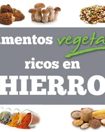 El hierro en la dieta vegana y vegetariana