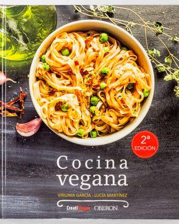 """""""Cocina Vegana"""" de Virginia García y Lucía Martínez"""