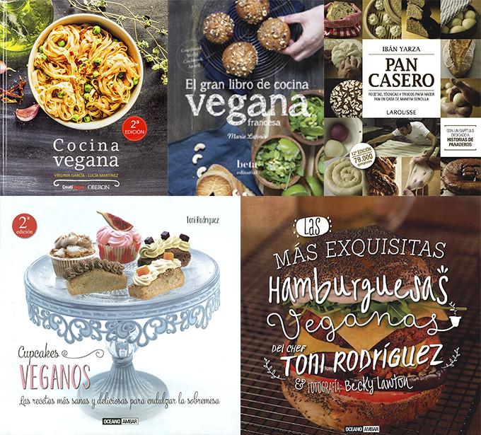 Los 5 mejores libros de cocina vegana