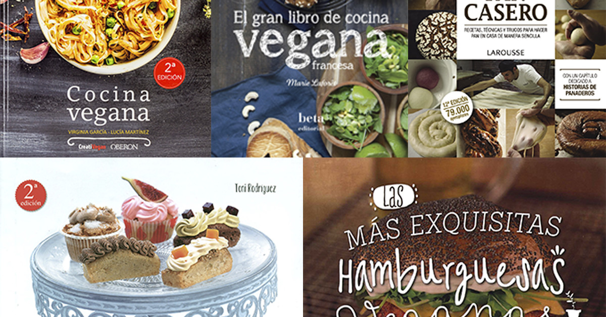Los 5 mejores libros de cocina vegana delantal de alces for Los mejores libros de cocina