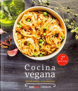"""Cocina vegana"" de Virginia García"