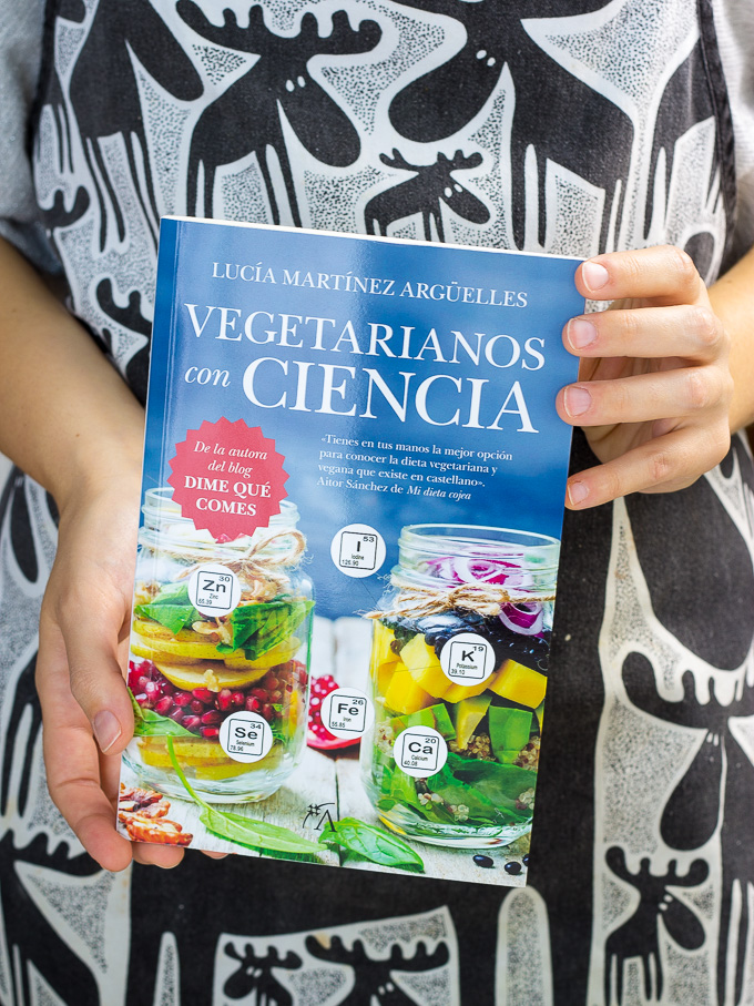 """""""Vegetarianos con ciencia"""" de Lucía Martínez"""