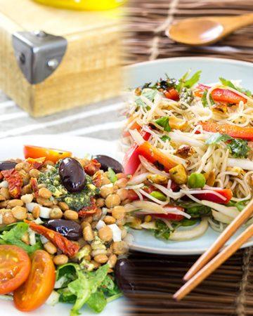Cómo preparar tus ensaladas veganas