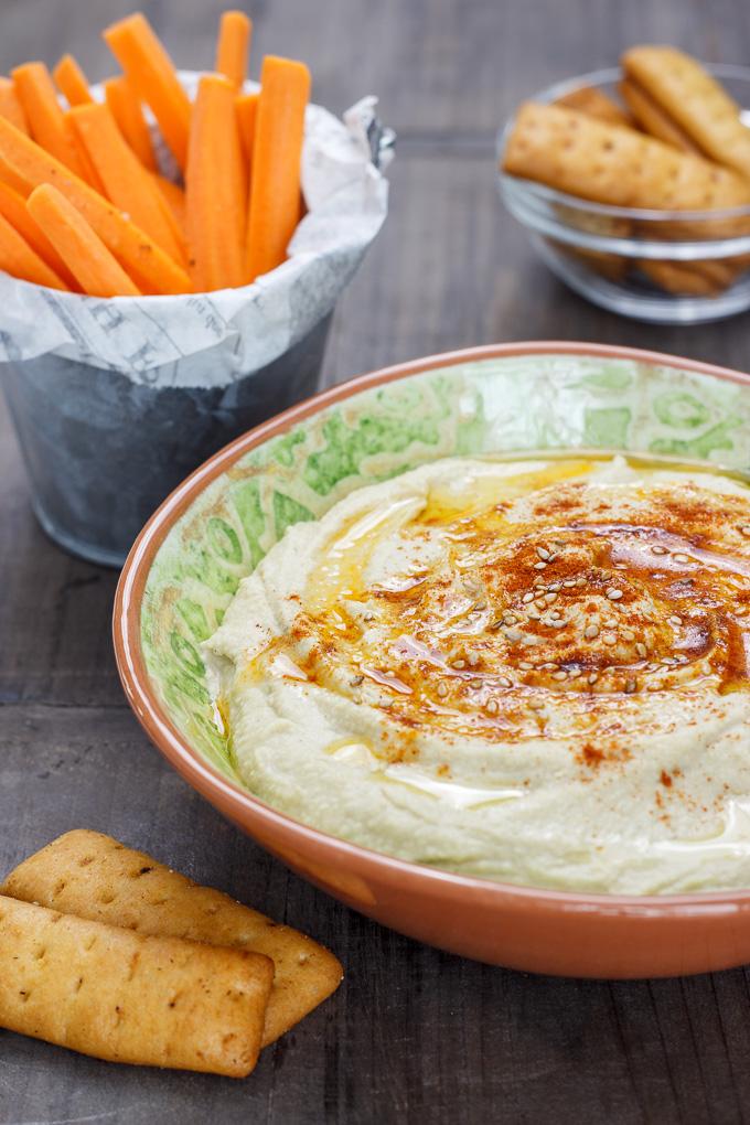 Hummus Cómo Hacer El Mejor Hummus Delantal De Alces