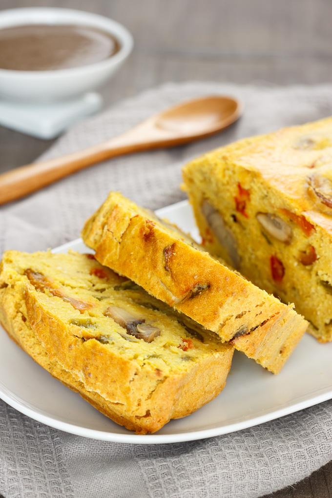tarta de puerros vegana receta