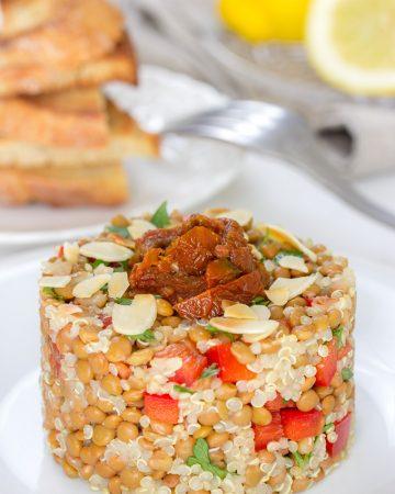 Ensalada de Lentejas y Quinoa