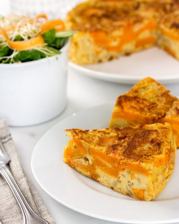 Tortilla de Boniato Vegana