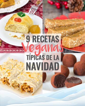 9 Recetas Veganas de Navidad
