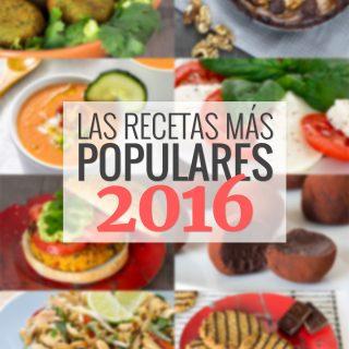 Las 10 recetas más populares de 2016