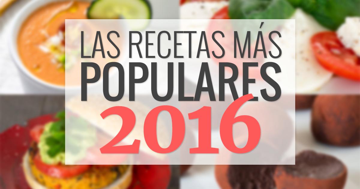 Las 10 recetas m s populares de 2016 delantal de alces - Recetas mastermix 2016 ...