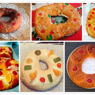 Roscones de Reyes Veganos