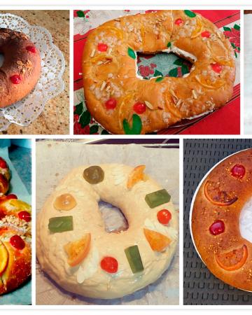 Vuestros Roscones de Reyes ¡Muchas gracias!