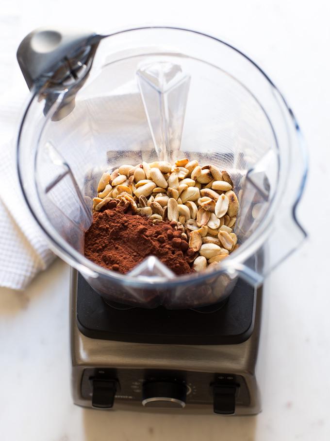 Crema de cacahuete al cacao