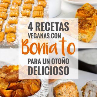 Recetas veganas con boniato
