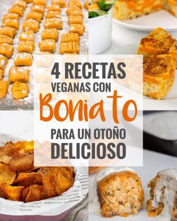 4 Recetas veganas con boniato para un otoño delicioso